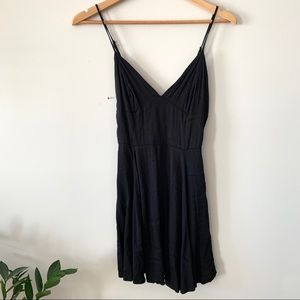 Silence + Noise Little Black Skater Dress NWOT